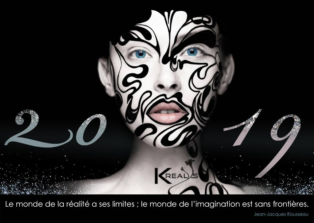 Création de cartes de voeux krealys 2019