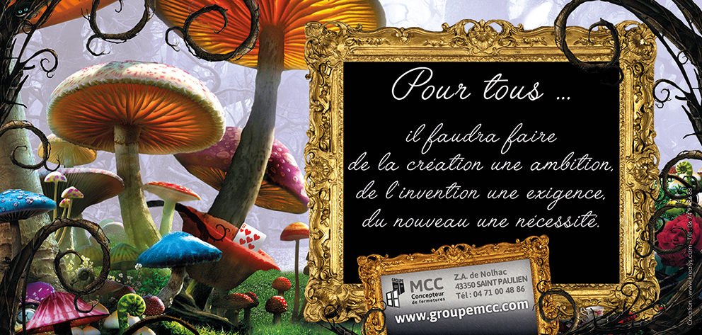 creation de cartes de veux Groupe MCC