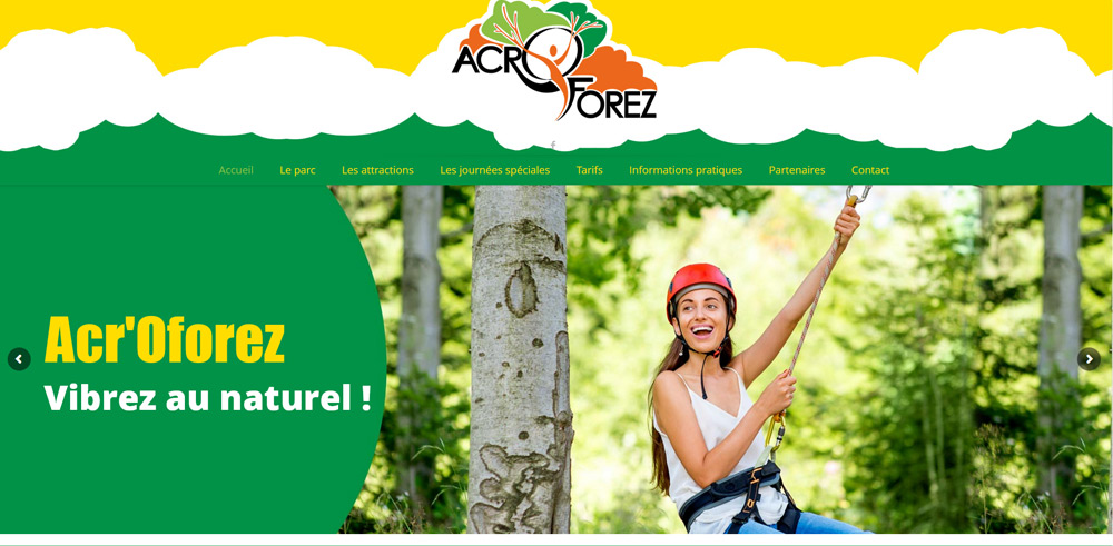 creation de site internet acroforez