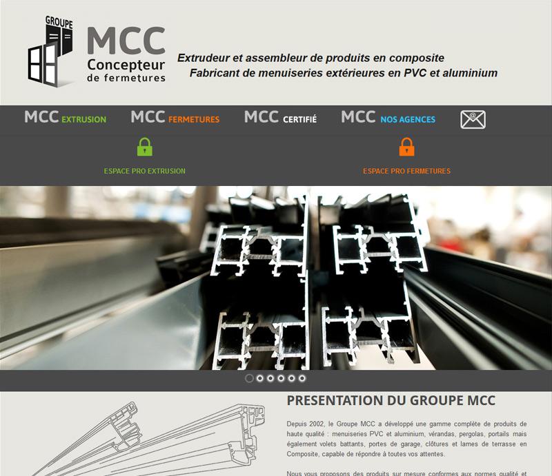 creation de site internet Groupe mcc
