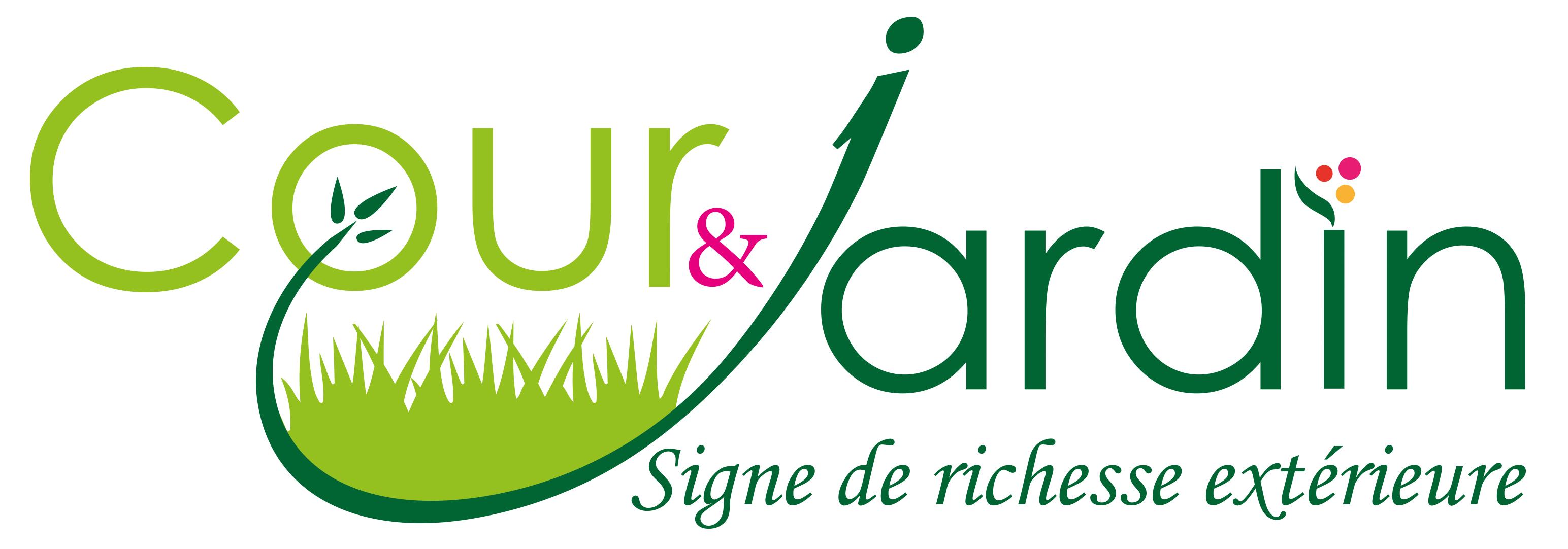 création logo cour et jardin