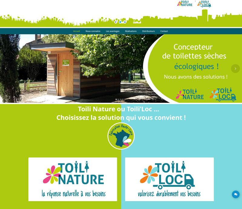 création site internet toilinature