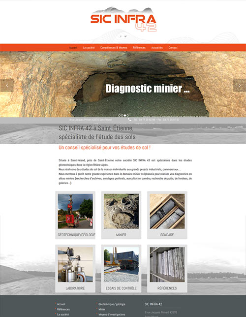 creation de site internet sicinfra