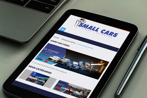 creation de site internet small-cars